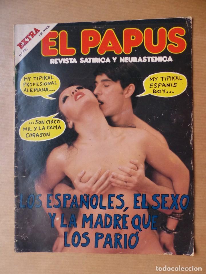 Revistas: EL PAPUS, 19 REVISTAS DOS DE ELLAS EXTRA - AÑOS 1980, VER FOTOS ADICIONALES - Foto 2 - 225124762