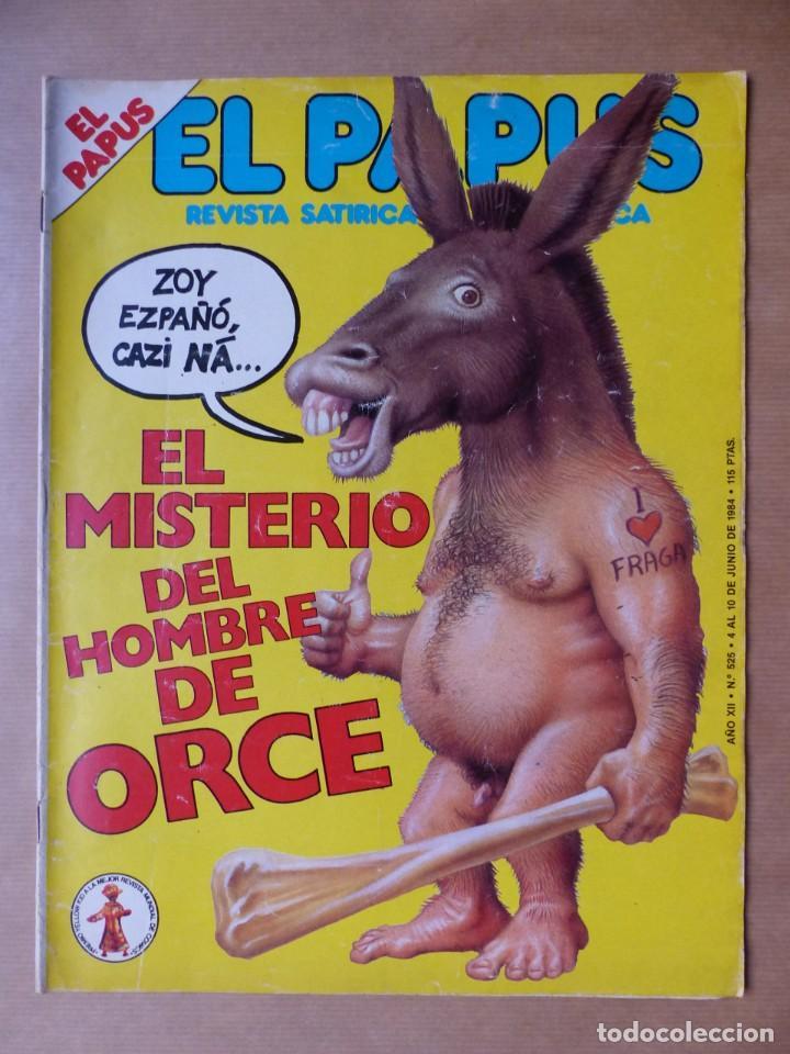 Revistas: EL PAPUS, 19 REVISTAS DOS DE ELLAS EXTRA - AÑOS 1980, VER FOTOS ADICIONALES - Foto 6 - 225124762