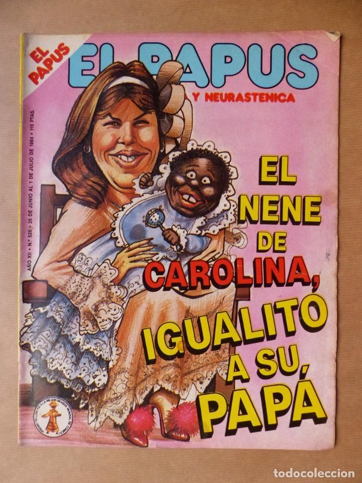 Revistas: EL PAPUS, 19 REVISTAS DOS DE ELLAS EXTRA - AÑOS 1980, VER FOTOS ADICIONALES - Foto 7 - 225124762