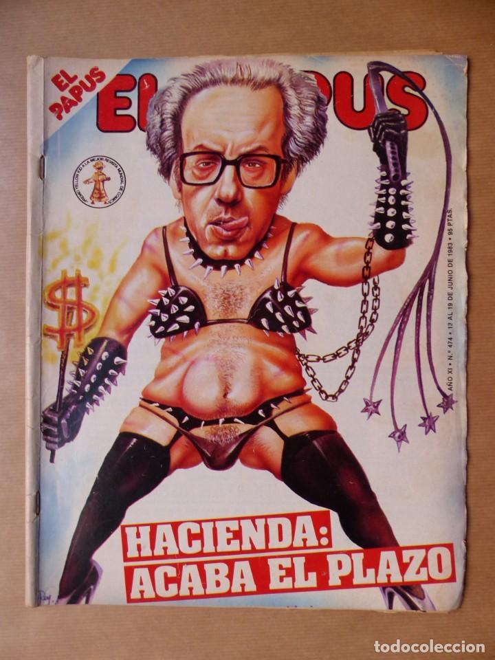 Revistas: EL PAPUS, 19 REVISTAS DOS DE ELLAS EXTRA - AÑOS 1980, VER FOTOS ADICIONALES - Foto 8 - 225124762