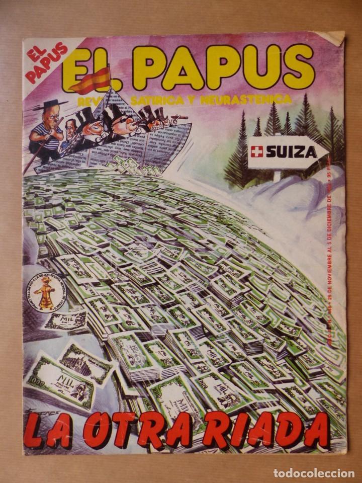 Revistas: EL PAPUS, 19 REVISTAS DOS DE ELLAS EXTRA - AÑOS 1980, VER FOTOS ADICIONALES - Foto 9 - 225124762