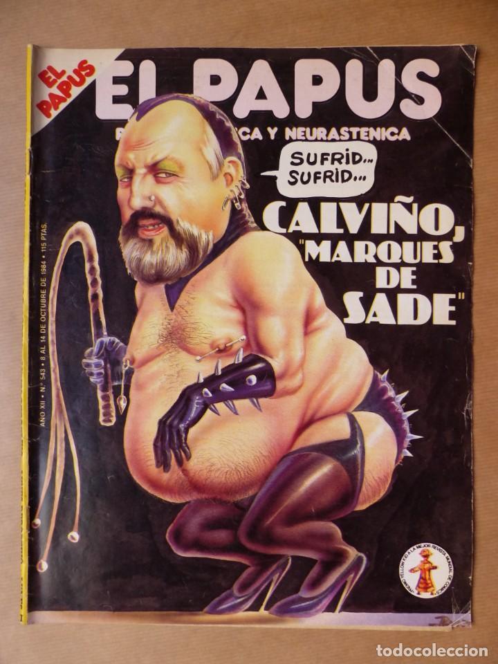Revistas: EL PAPUS, 19 REVISTAS DOS DE ELLAS EXTRA - AÑOS 1980, VER FOTOS ADICIONALES - Foto 10 - 225124762