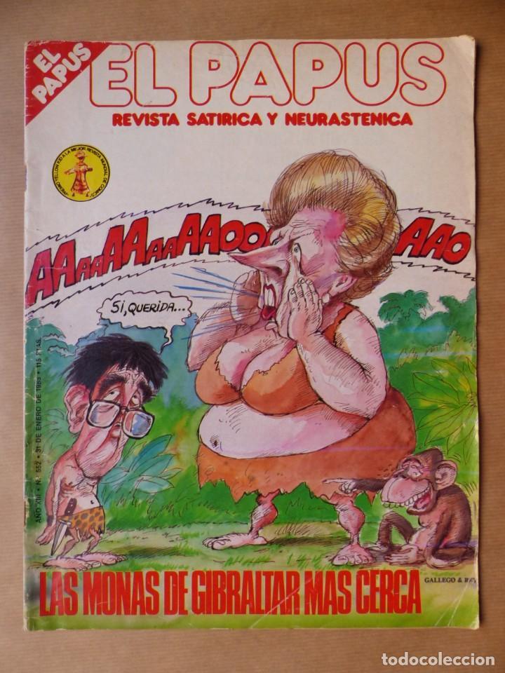 Revistas: EL PAPUS, 19 REVISTAS DOS DE ELLAS EXTRA - AÑOS 1980, VER FOTOS ADICIONALES - Foto 11 - 225124762