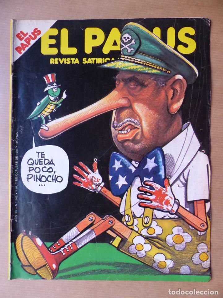 Revistas: EL PAPUS, 19 REVISTAS DOS DE ELLAS EXTRA - AÑOS 1980, VER FOTOS ADICIONALES - Foto 12 - 225124762