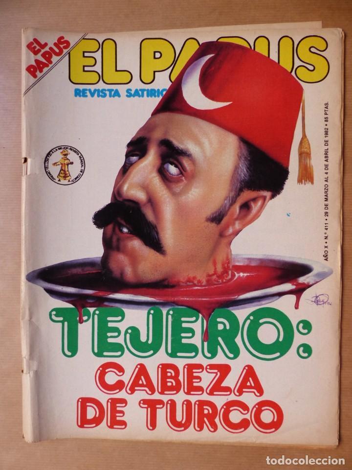 Revistas: EL PAPUS, 19 REVISTAS DOS DE ELLAS EXTRA - AÑOS 1980, VER FOTOS ADICIONALES - Foto 15 - 225124762