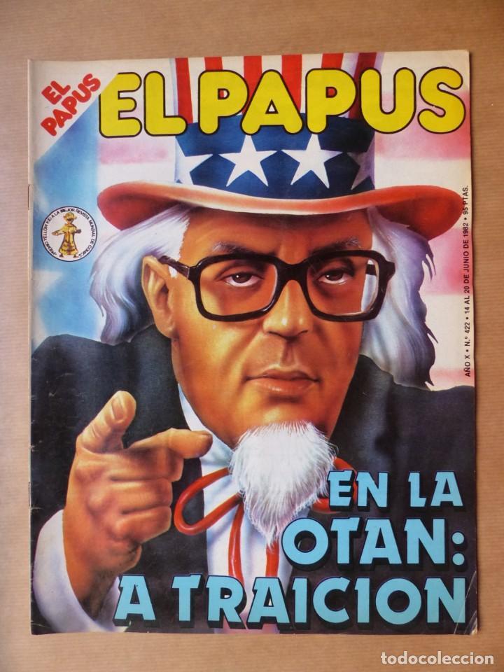 Revistas: EL PAPUS, 19 REVISTAS DOS DE ELLAS EXTRA - AÑOS 1980, VER FOTOS ADICIONALES - Foto 17 - 225124762