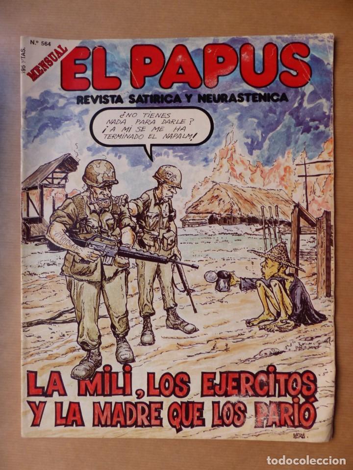 Revistas: EL PAPUS, 19 REVISTAS DOS DE ELLAS EXTRA - AÑOS 1980, VER FOTOS ADICIONALES - Foto 19 - 225124762