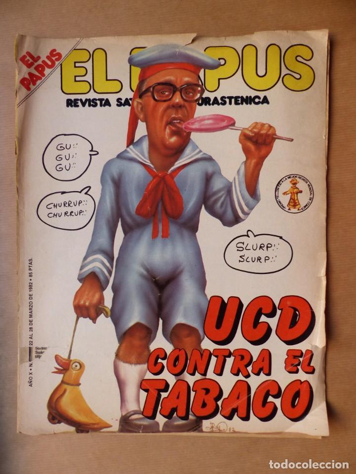 Revistas: EL PAPUS, 19 REVISTAS DOS DE ELLAS EXTRA - AÑOS 1980, VER FOTOS ADICIONALES - Foto 20 - 225124762