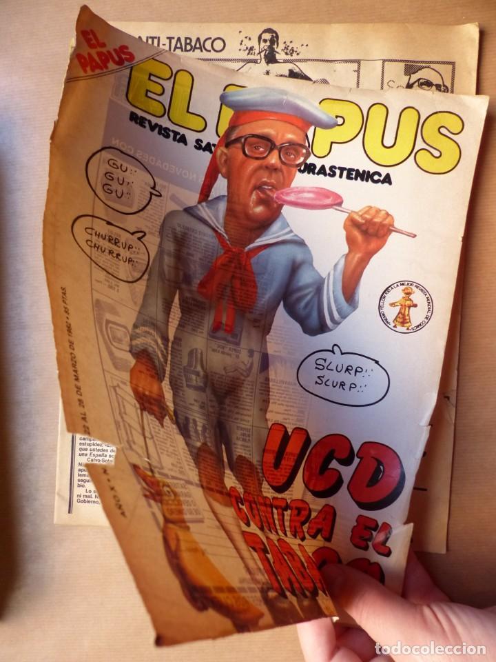 Revistas: EL PAPUS, 19 REVISTAS DOS DE ELLAS EXTRA - AÑOS 1980, VER FOTOS ADICIONALES - Foto 21 - 225124762