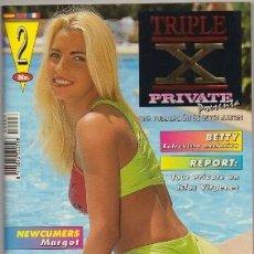 Revistas: REVISTA PARA ADULTOS PRIVATE TRIPLE X Nº2 POR-411,10. Lote 296826088