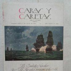 Revistas: ARGENTINA.CARAS Y CARETAS.5 DE JULIO 1930.- REF 787. Lote 225985750
