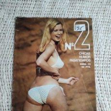 Revistas: PAPUS EXTRA Nº 2 1975 - REVISTA EROTICA VINTAGE DE LOS AÑOS 70. Lote 58626136