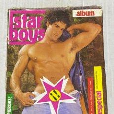 Revistas: REVISTA PORNO STAR BOYS ALBUM Nº 24 - GAY MAGAZINE PARA ADULTOS. Lote 245974835