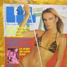 Revistas: REVISTA LIB AÑO 3 NUMERO 96 1978 - LUCIA BOSÉ, JANE BIRKIN,. Lote 229755235