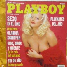 Revistas: PLAYBOY Nº 181,SEXO EN EL CINE, POSTER, ANNA-MARIE GODDARD, ENTREVISTA CLAUDIA SCHIFFER,. Lote 229757400