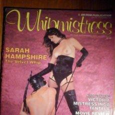 Magazines: WHIPMISTRESS - SADO MASO - FETICHISMO - EN INGLÉS - VOLUMEN 1 NÚMERO 2. Lote 230887455