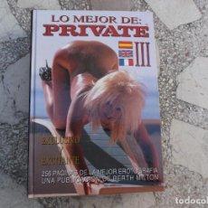 Revistas: LIBRO LO MEJOR DE PRIVATE VOLUMEN III. PARA ADULTOS. Lote 256126000