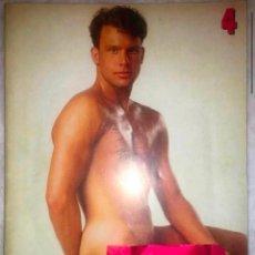 Revistas: REVISTA GAY GEILE BURSCHEN 4 PLAYGUY PLAYGIRL NEGER SAM EROTICA FOTOGRAFIA ALEMANA ADULTOS DVD VHS. Lote 231907765