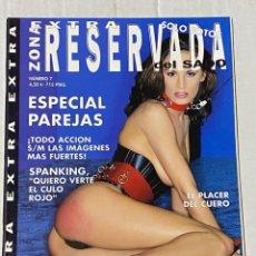 Magazines: REVISTA PORNO LA ZONA RESERVADA DEL SADO EXTRA Nº 7 - SOLAMENTE PARA ADULTOS. Lote 242429390