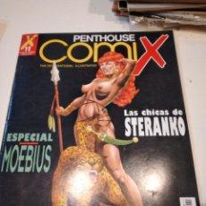 Revistas: G-64 REVISTA LOTE DE 7 REVISTAS DE ADULTOS PENTHOUSE COMIX LAS DE FOTO. Lote 232530165
