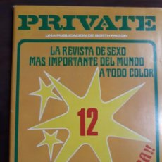 Riviste: REVISTA PRIVATE NÚMERO 12. Lote 233577360