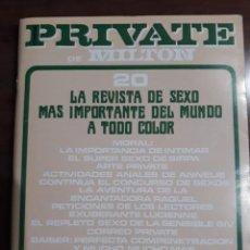 Revistas: REVISTA PRIVATE NÚMERO 20. Lote 233577890