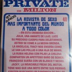 Revistas: REVISTA PRIVATE NÚMERO 40. Lote 233580735