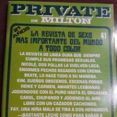 Revistas: REVISTA PRIVATE NÚMERO 41. Lote 233581210