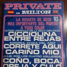 Revistas: REVISTA PRIVATE NÚMERO 93. Lote 233585000