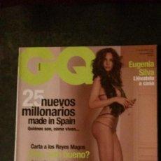 Revistas: GQ Nº 95-EUGENIA SILVA-CARMEN ELECTRA-SUMMER ALTICE-GRACE JONES. Lote 263679290