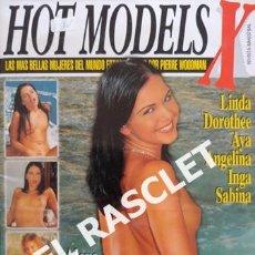 Revistas: ANTIGUA REVISTA PARA ADULTOS - HOT MODELS - Nº 3. Lote 234918735