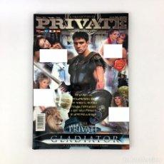 Revistas: PRIVATE THE GLADIATOR MAGAZINE. ANTONIO ADAMO RITA FALTOYANO MANDY BRIGHT IVETT SEXO EROTICA X PORNO. Lote 234922275