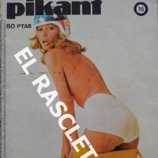 Revistas: ANTIGUA REVISTA PARA ADULTOS - PIKANT. Lote 234924365