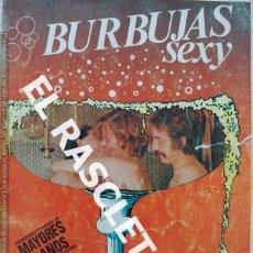 Revistas: ANTIGUA REVISTA PARA ADULTOS - BURBUJAS SEXY. Lote 234925910
