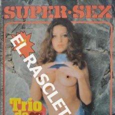 Revistas: ANTIGUA REVISTA PARA ADULTOS - SUPER - SEX. Lote 234933400