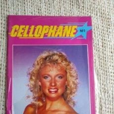 Revistas: CELLOPHANE Nº 1 - REVISTA EROTICA DE LOS AÑOS 90. Lote 235164360