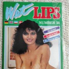 Revistas: WET LIPS Nº 14 REVISTA PARA ADULTOS DE LOS AÑOS 90. Lote 235166455