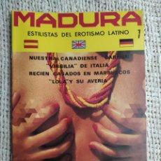 Revistas: MADURA , REVISTA PARA ADULTOS DE LOS AÑOS 90. Lote 235166855