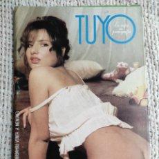 Revistas: TUYO, REVISTA PARA ADULTOS DE LOS AÑOS 90. Lote 235167875