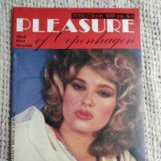 Revistas: PLEASURE OF COPENHAGEN Nº 1 REVISTA EROTICA DE LOS AÑOS 80. Lote 235168655