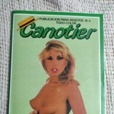 Revistas: CANOTIER Nº 4 REVISTA PARA ADULTOS DE LOS AÑOS 90. Lote 235174045