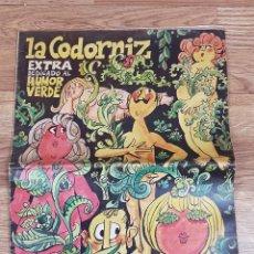 Revistas: CODORNIZ EXTRA HUMOR VEDE. Lote 235933190