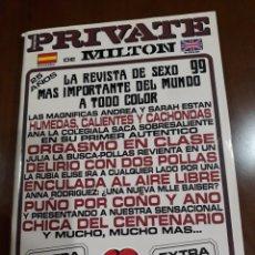 Revistas: REVISTA PRIVATE NÚMERO 99. Lote 236046790