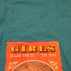 Revistas: REVISTA GIRLS.RELATOS EROTICOS Nº1. Lote 236053360
