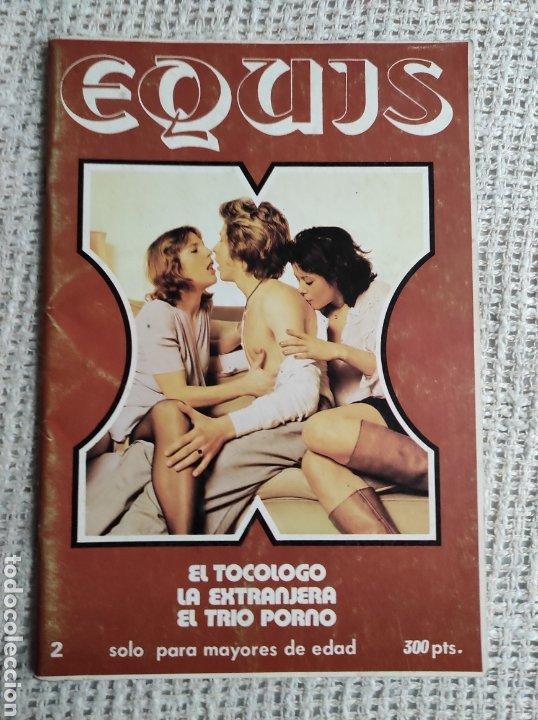 EQUIS Nº 2 - REVISTA EROTICA DE LOS AÑOS 80 (Coleccionismo para Adultos - Revistas)