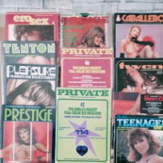 Revistas: 12 REVISTA EROTICAS EN DIFERENTES IDIOMAS AÑOS 70 80. Lote 243596120