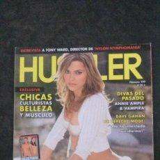 Revistas: HUSTLER Nº 199-HANNAH HILTON-SPICE GIRLS-ANNIE AMPLE-JENNI LEE-MELISSA JACOBS. Lote 243837105