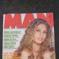 Revistas: MAN 161-ESPECIAL BRASILEÑAS-JARABE DE PALO-CHARLIZE THERON-JORDI CRUYFF-RUBENS BARRICHELLO. Lote 243841510