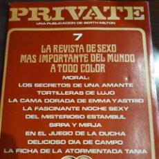 Revistas: REVISTA PRIVATE NÚMERO 7. Lote 243895645