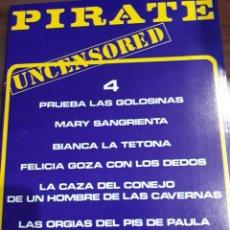 Revistas: REVISTA PIRATE NÚMERO 4. Lote 243896130